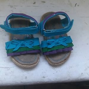 Baby Girl Place Sandals size 3-6months.